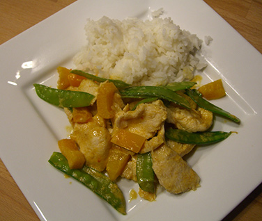 Rezept Thai Curry gelb